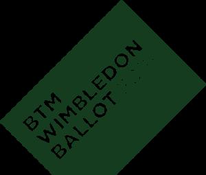 Wimbledon Ballot 20018